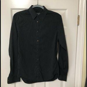 Armani Exchange Designer snap up shirt S